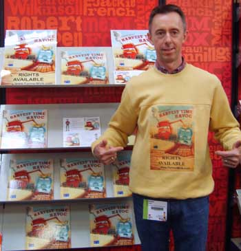 Brendan at the Bologna Children's Book Fair