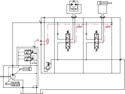 Hydraulic Load Sensing Control on current flow in schematics, electrical schematics, understanding wiring schematics, easy circuit schematics, symbolic meaning of schematics,